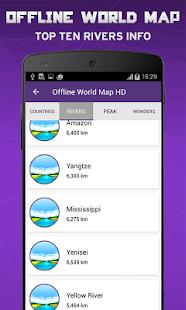 Best Offline World Map App.  Offline World Map HD 3D Maps Street Veiw screenshot thumbnail Android Apps on