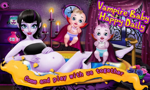 Vampire Baby Happy Daily