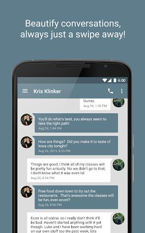 EvolveSMS (Text Messaging) Screenshot