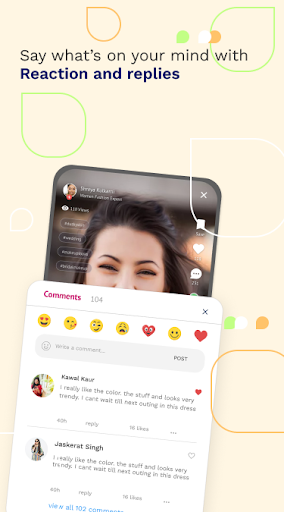 simsim - India's #1 Short Video & Shopping App 1.0.37 Screenshots 3