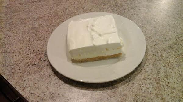 Vanilla Cookie Lasagna