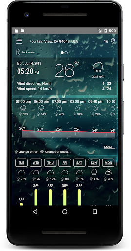 Weather Radar & Forecast screenshot for Android