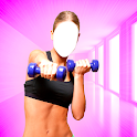 Fitness Girl Photo Suit Editor icon