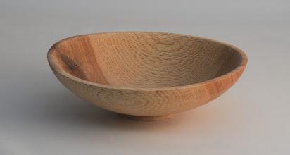 """Photo: Tim Aley 7"""" x 2"""" bowl [willow oak]"""
