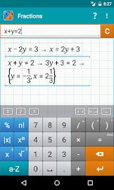 Fraction Calculator MathlabPRO Screenshot 7
