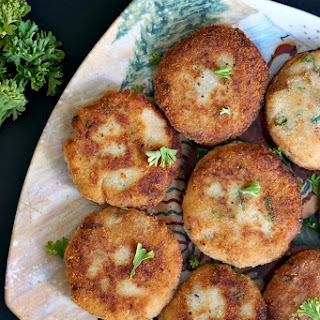 Mashed Potato Tuna Patties.