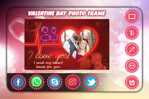 Valentine Day Photo Frame 2018 1.13 screenshots 5