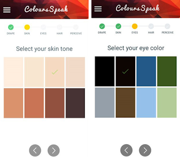 Colours Speak: Color Analysis, Undertone, & Style Screenshot