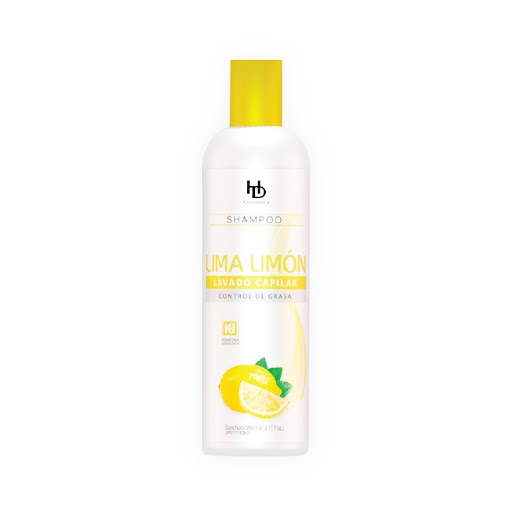 champu hd cosmetics lima limon 360ml