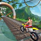 Carrera de ciclista de Stuntman icon