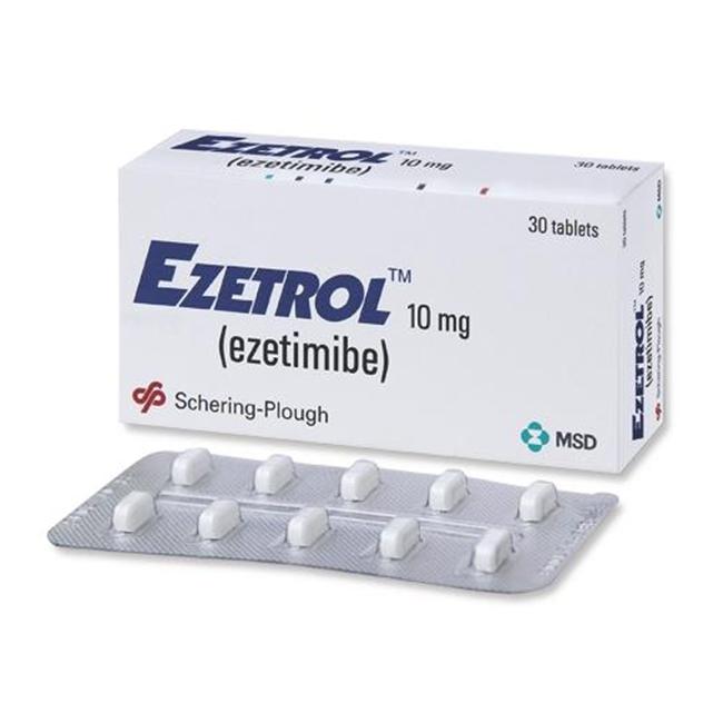 Hình ảnh thuốc Ezetrol