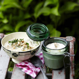 Tahini and Yogurt Dip.