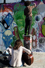 Photo: [ Street Art ]  A mix of paint and music,freedom of expression ! Wish you all a nice sunday G+ people :-)  #streetart