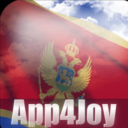 Android aplikacija Montenegro Flag Live Wallpaper