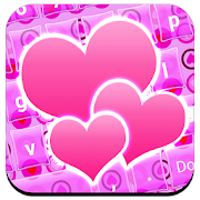 Love Hearts Keyboard Themes