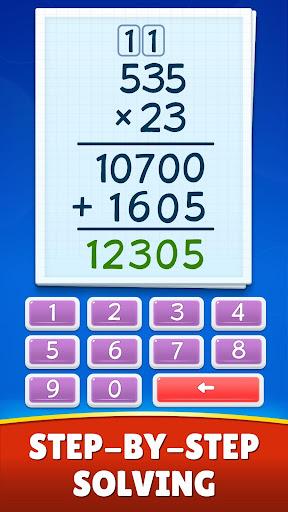 Math Games - Addition, Subtraction, Multiplication 0.0.5 screenshots 5