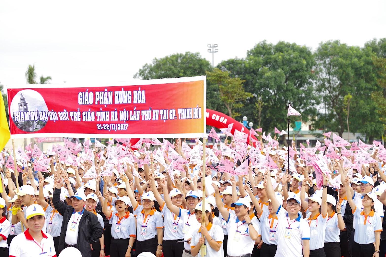 Những hình ảnh đẹp về lễ khai mạc Đại Hội Giới Trẻ giáo tỉnh Hà Nội lần thứ XV tại Thanh Hóa - Ảnh minh hoạ 6
