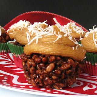 Chocolate Coconut Rice Crispy Cupcakes (Marshmallow-Free)