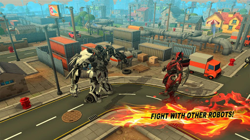 Robot X Ray Battle 3D 1.0 APK by Bro and Bro Games Details