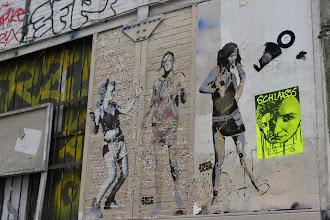 Photo: Street art -Sobr -Paris XIe - rue Oberkampf