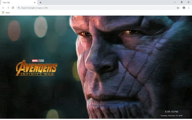 Thanos New Tab & Wallpapers Collection