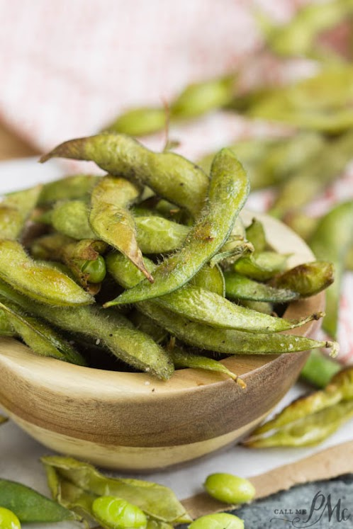 Roasted Edamame in Pod Recipe