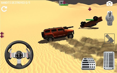 4x4 Desert Safari Attack- screenshot thumbnail