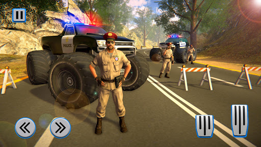 Monster Truck Police Chase Driving Simulator 1.0.4 screenshots 1