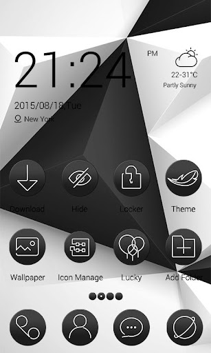 White and Black - ZERO Theme