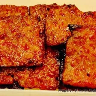 Home-made Barbecued Pork (Bak Kwa).