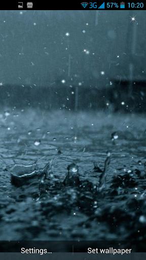 玩個人化App|雨天动态壁纸免費|APP試玩
