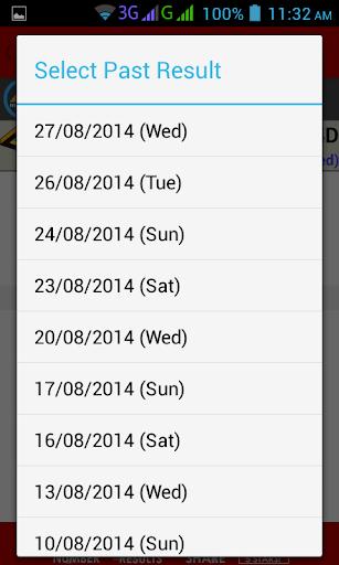 Live 4D Results ! (MY & SG) screenshot 4