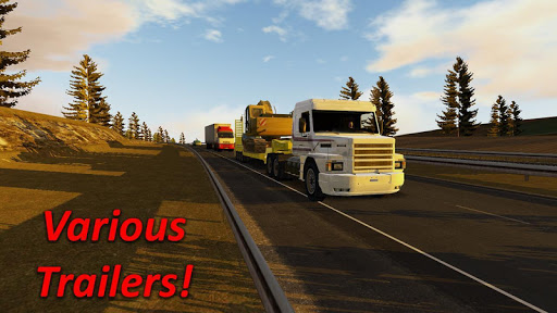 Heavy Truck Simulator  gameplay | by HackJr.Pw 11