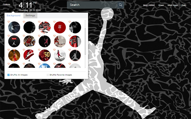 Michael Jordan Wallpapers Theme New Tab