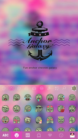 Anchor Galaxy Kika Keyboard 60.0 screenshot 2088718