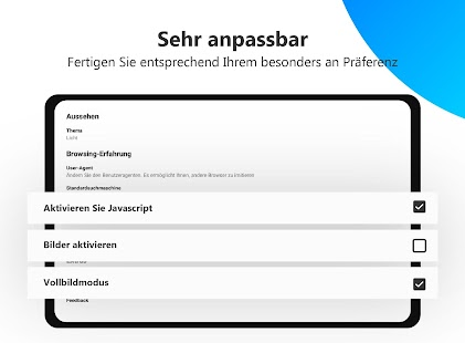 Inkognito-Browser - Ihr eigener anonymer Browser Screenshot