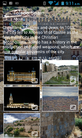 android Toledo City Screenshot 1