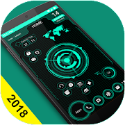 Futuristic UI Launcher 2018 - Hitech Theme