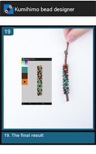 Kumihimo bead designer DEMO - náhled