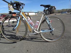 Photo: Lois' beautiful bike