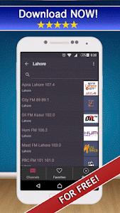 📻 Pakistan Radio FM & AM Live screenshot 0
