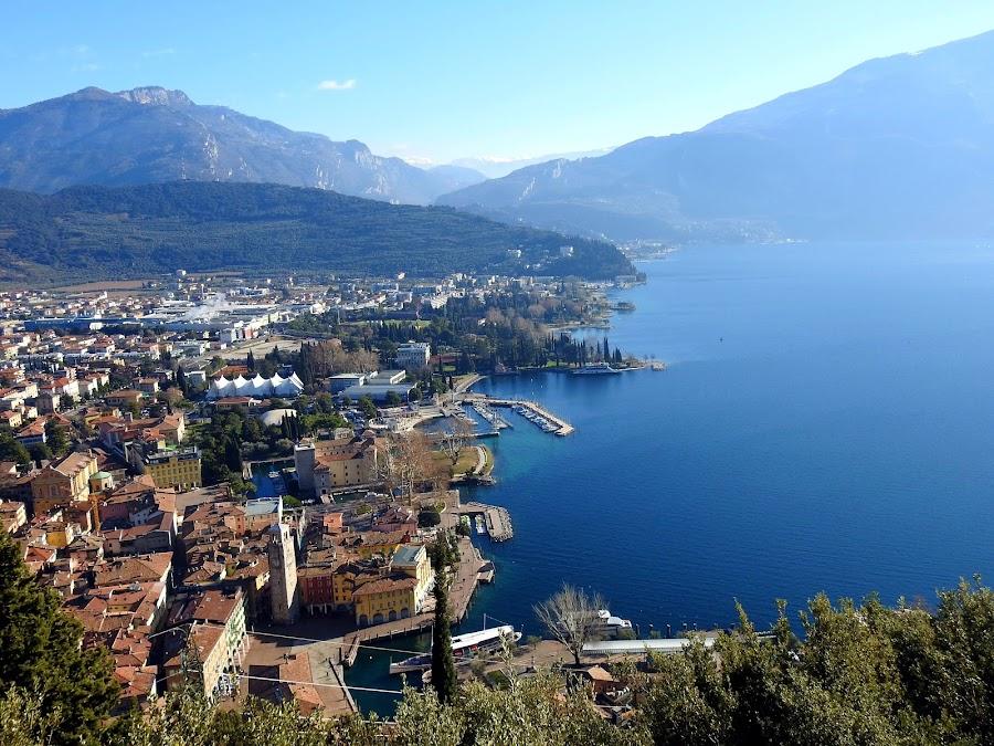 landscape of Riva del Garda by Patrizia Emiliani - City,  Street & Park  Vistas ( riva del garda, landscape, italy,  )