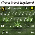 Green Weed Keyboard icon