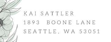 Kai Sattler - Address Label template