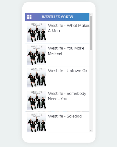 Westlife Song and Music Premium App Report on Mobile Action