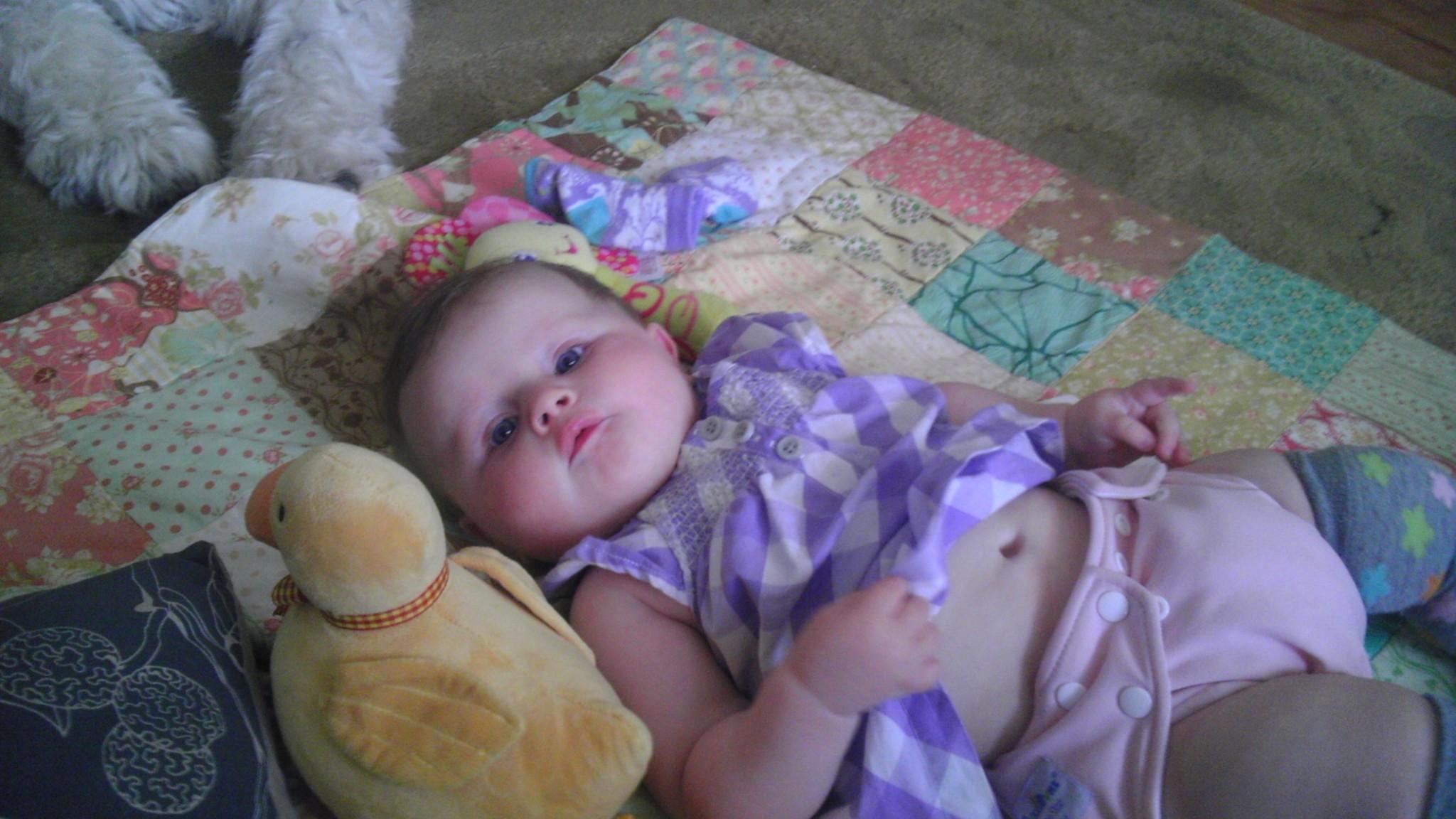 Photo: My beautiful granddaughter Edie
