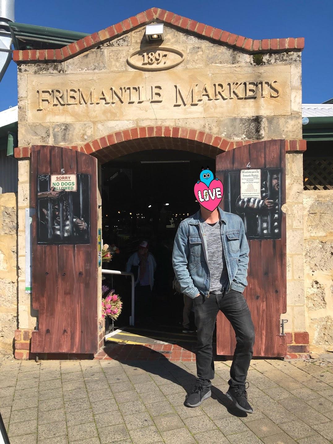 フリーマントルマーケット入り口