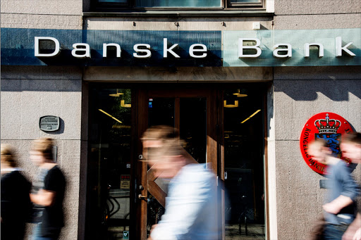 Pedestrians pass the entrance to a Danske Bank branch in Gothenburg, Sweden. Picture: BLOOMBERG