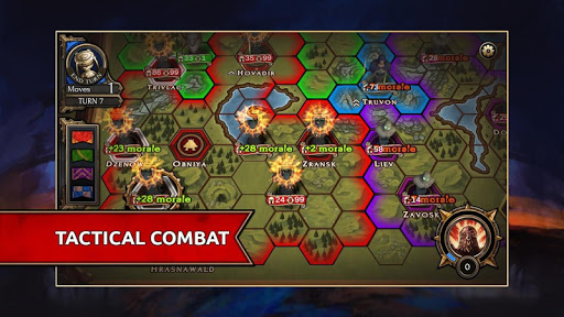 Shattered Plane: Turn-Based Strategy Game - screenshot