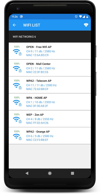 WIFI PASSWORD WPA3 Screenshot 1